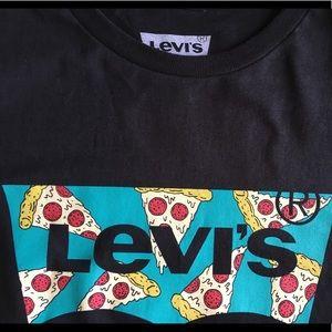 d34d1f6a0 Levi's Shirts | Mens Levis Pizza Logo Tshirt | Poshmark
